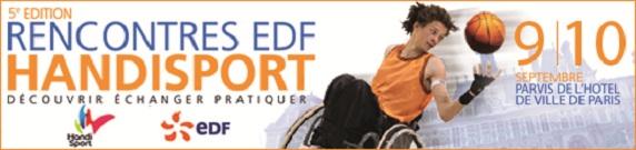 rencontre edf handisport 2011